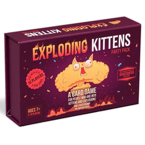 Exploding Kittens Party Pack - Mega Games Penrith