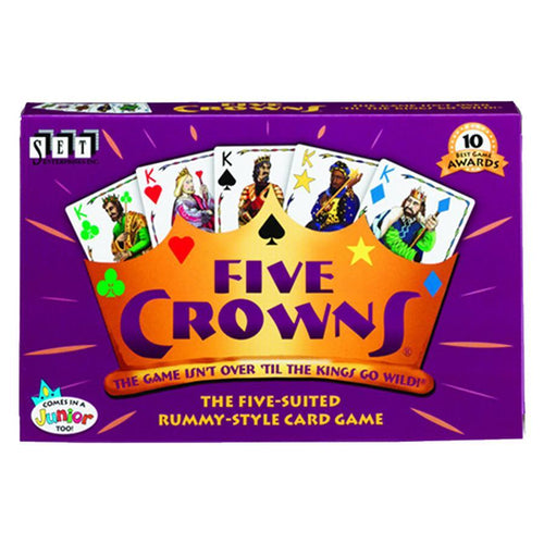 Five Crowns Card Game - Mega Games Penrith