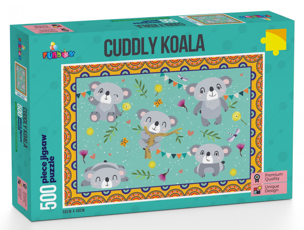Funbox Cuddly Koala 500pc - Mega Games Penrith