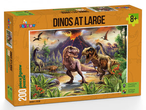 Funbox Dinos At Large 200pc