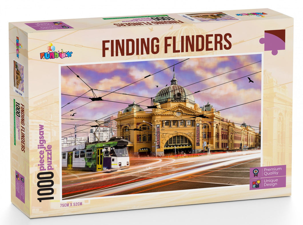 Funbox  Finding Flinders 1000pc Jigsaw - Mega Games Penrith