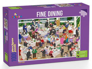 Funbox Fine Dining 1000pc Jigsaw Puzzle