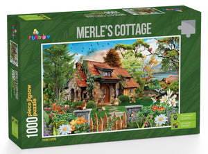 Funbox Merle's Cottage 1000pc Jigsaw Puzzle - Mega Games Penrith