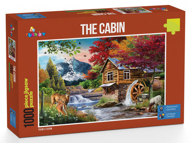 Funbox The Cabin 1000pc Jigsaw Puzzle - Mega Games Penrith
