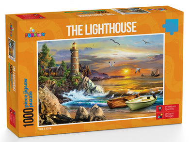Funbox The Lighthouse 1000pc Jigsaw Puzzle - Mega Games Penrith