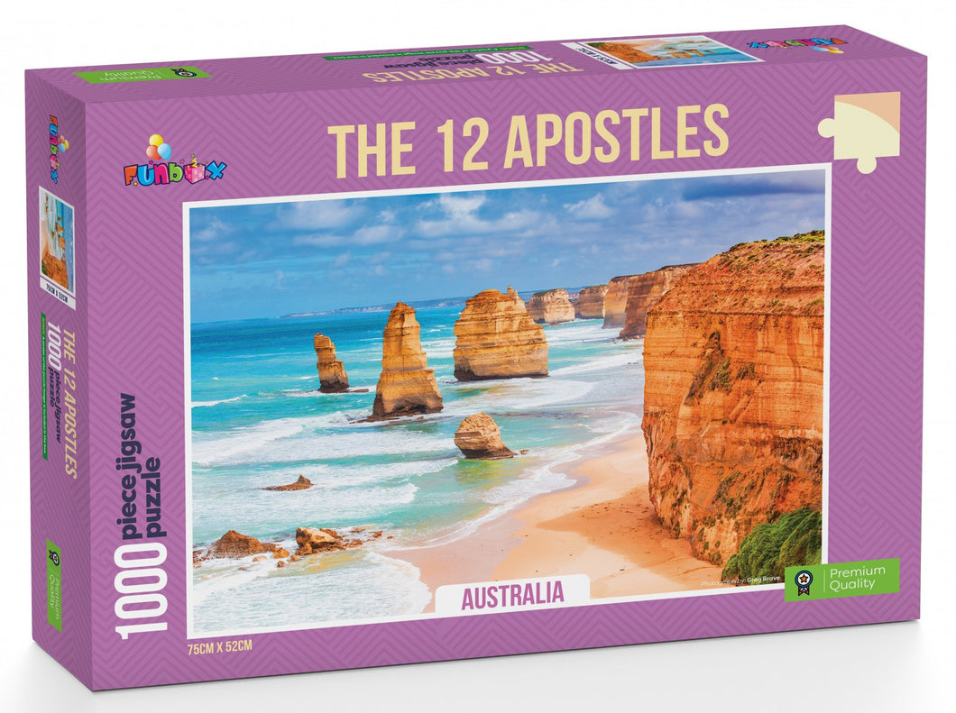 Funbox  The 12 Apostles 1000pc Jigsaw - Mega Games Penrith