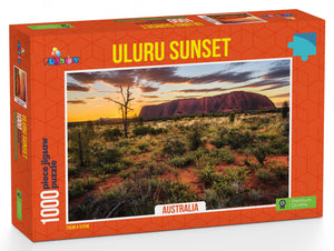 Funbox Uluru Sunset Australia 1000pc