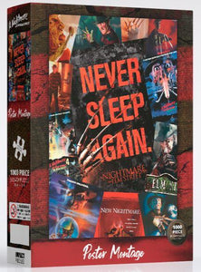 Impact Puzzle Nightmare On Elm Street  Movie Art Puzzle 1,000 pieces