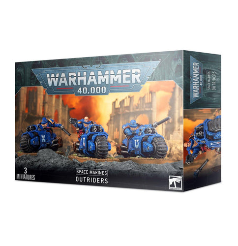 Warhammer 40,000 Space Marines Outriders - Mega Games Penrith
