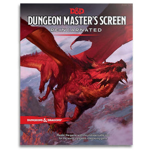 D & D Dungeon Master's Screen Reincarnate - Mega Games Penrith