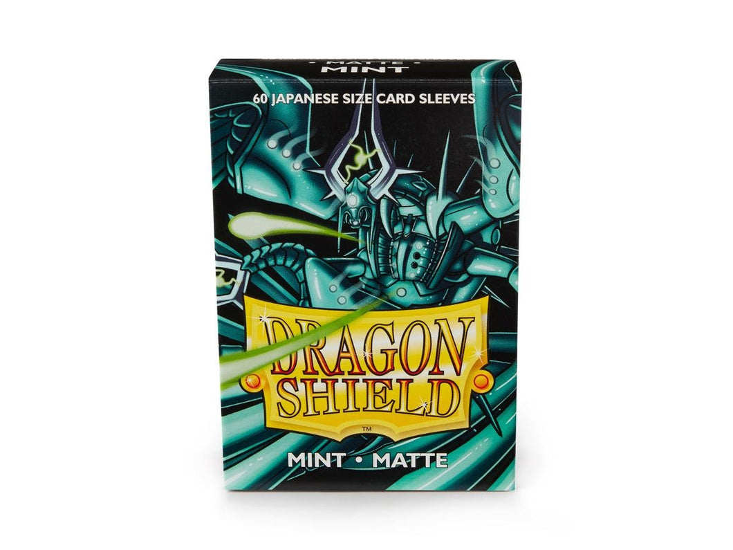 Sleeves - Dragon Shield Japanese- Box 60 - Mint MATTE