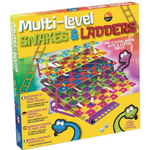 Load image into Gallery viewer, Multi-Level Snakes And Ladders