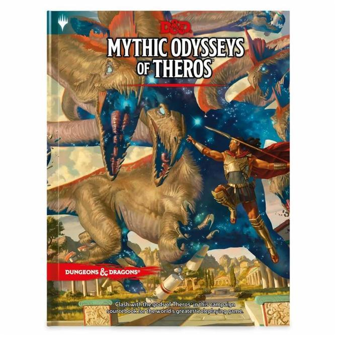 D & D Mythic Odysseys of Theros - Mega Games Penrith