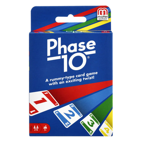 Phase 10 Card Game - Mega Games Penrith