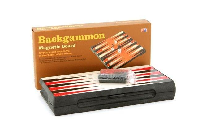 Backgammon Magnetic 10in