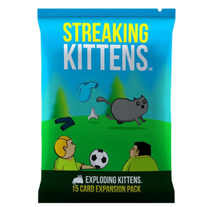 Streaking Kittens - Exploding Kittens Expansion - Mega Games Penrith