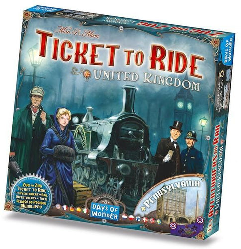 Ticket to Ride United Kingdom Expansion - Mega Games Penrith