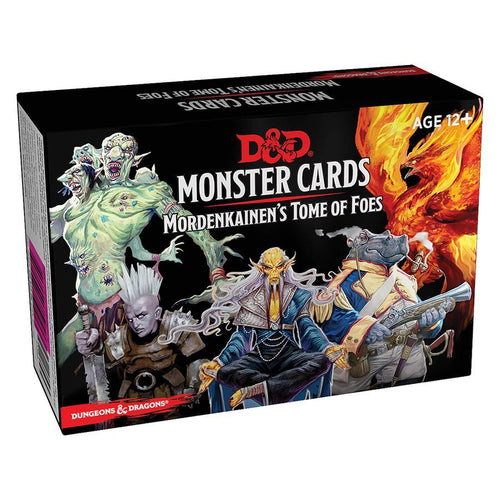 D & D Monster Cards Mordenkainen's Tome - Mega Games Penrith