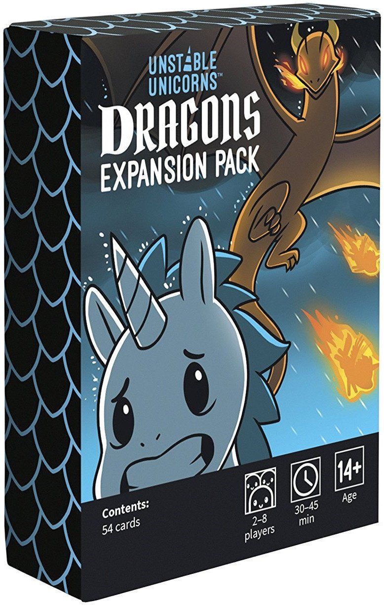 Unstable Unicorns Dragon Expansion - Mega Games Penrith
