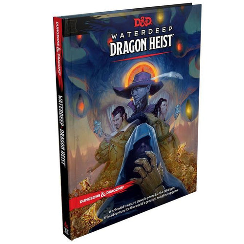 D & D Waterdeep Dragon Heist - Mega Games Penrith