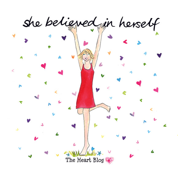 She believed  - Book