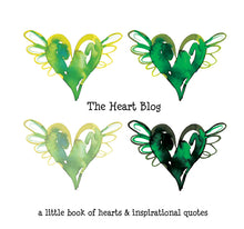 Load image into Gallery viewer, green book of hearts 366 hearts
