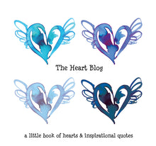 Load image into Gallery viewer, the heart blog blue book 366 hearts