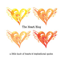 Load image into Gallery viewer, yellow book of hearts 366 hearts