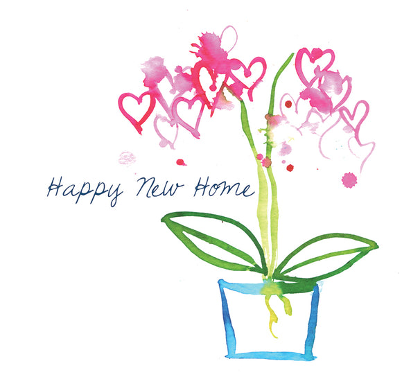 """Happy New Home"" #Heart630 - New Home Card"