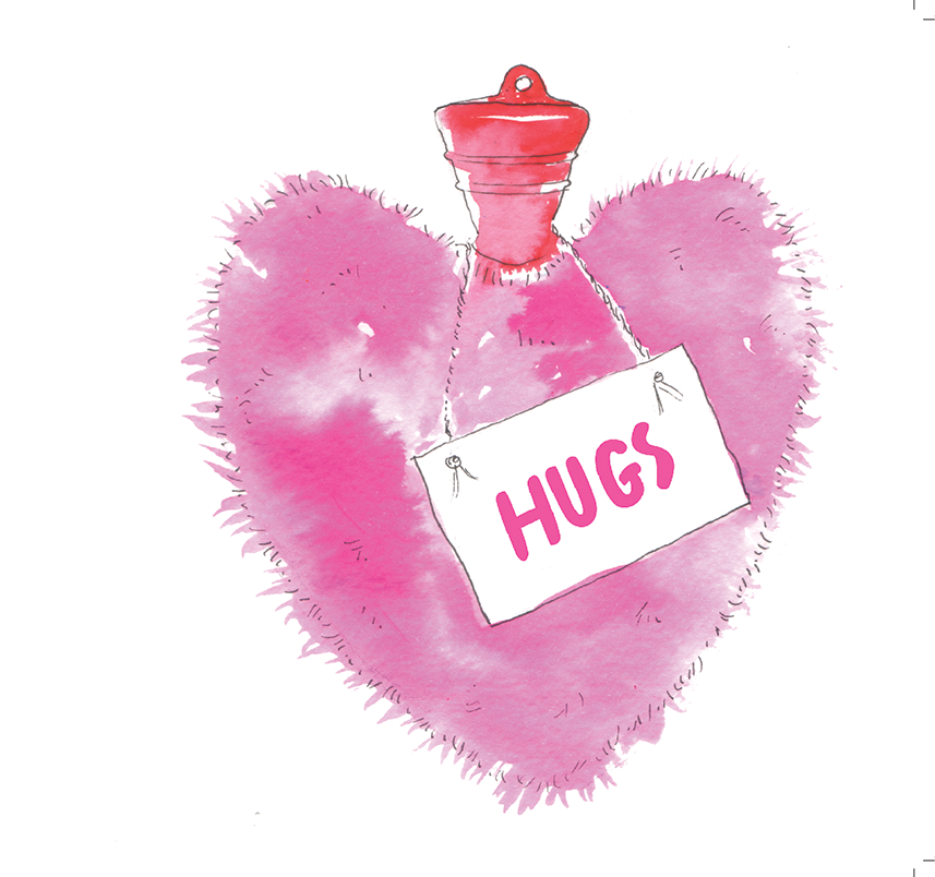 """Hugs"" #Heart739 - Get Well Soon Card"