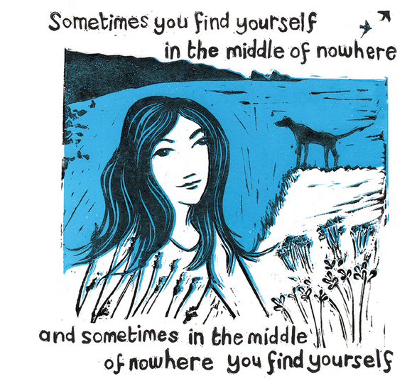 """Find Yourself"" #Heartunnumbered- Greeting Card"