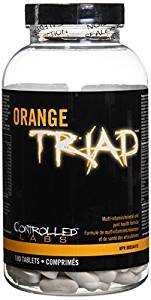 Orange TRIAD  180 tablets
