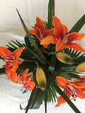 Number 4 - Orange Day Lily in a Tropical Setting