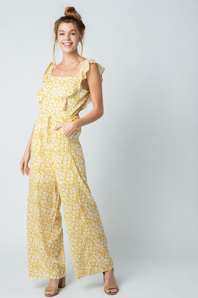 Sunflower Jumpsuit