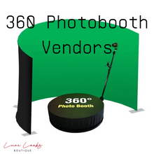 Load image into Gallery viewer, 360 Photobooth Vendor