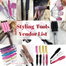 Load image into Gallery viewer, Styling Tools Vendor List