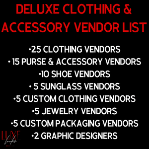 Deluxe Clothing Vendors