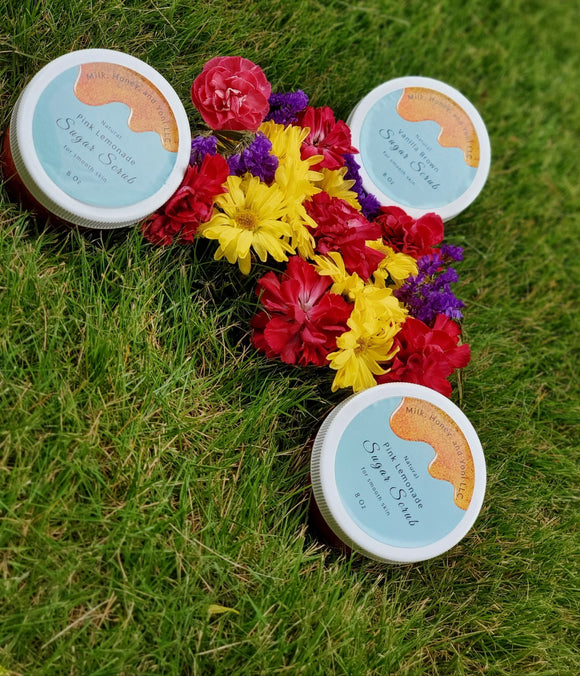 MHY NATURAL SUGAR SCRUBS