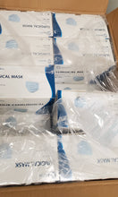 Load image into Gallery viewer, Case of ASTM Level 3 - Tie Backs - (20 boxes of 50 masks) 1,000 Masks