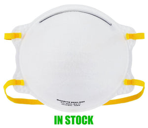 Case of 240 N95 Makrite 9500 - NIOSH / CDC / FDA / Health Canada Approved - Case of 240 Masks