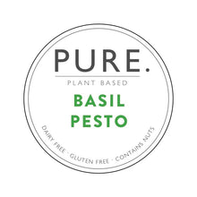 Load image into Gallery viewer, Three pack of Pure Plant Based Basil Pesto