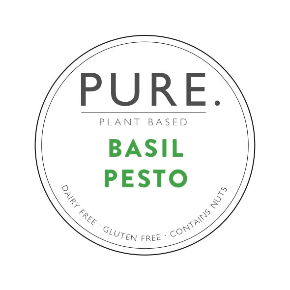 Three pack of Pure Plant Based Basil Pesto