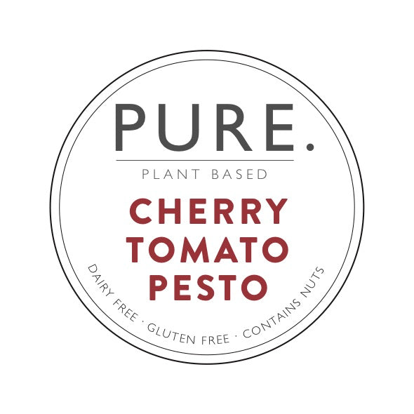 Three pack of Pure Plant Based Cherry Tomato Pesto