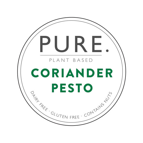 Pure Plant Based Coriander Pesto