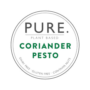 Three pack of Pure Plant Based Coriander Pesto