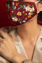 Load image into Gallery viewer, RED BLISSE EARLOOP CLOTH MASK