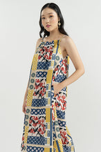 Load image into Gallery viewer, NAVY PATCHWORK SABRINA