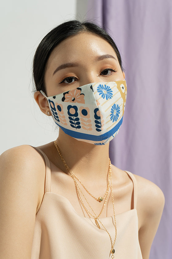PASTEL JUDY EARLOOP CLOTH MASK SET