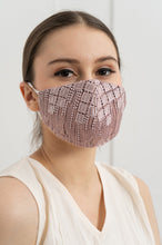 Load image into Gallery viewer, PINK HANNA EARLOOP CLOTH MASK