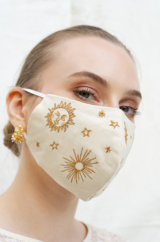 PISTACHIO CELESTE EARLOOP CLOTH MASK